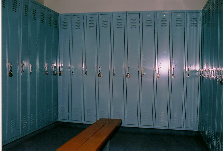 Locker Rooms with Showers